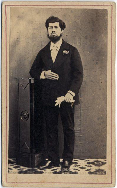 Retrato de un hombre.