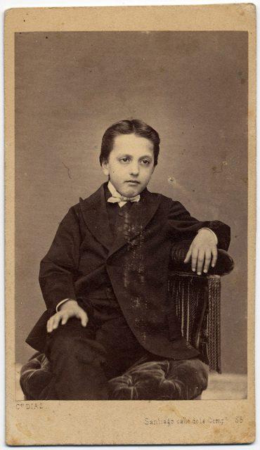Retrato de un niño.
