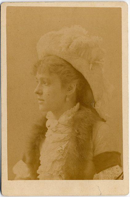 Retrato de Margarita de la Barra.