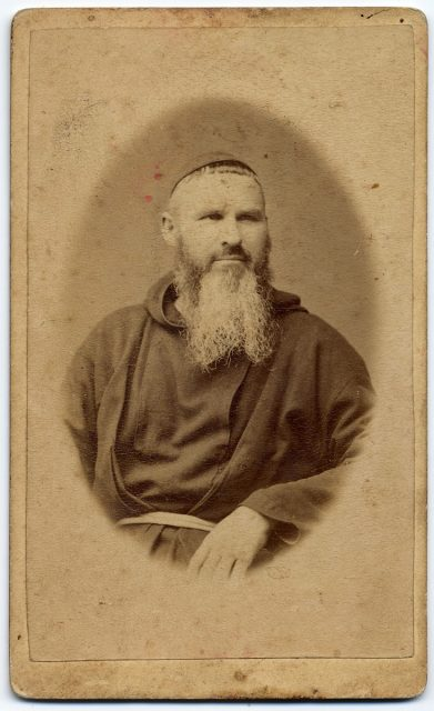 Retrato de un monje.