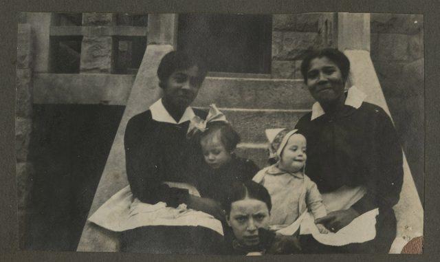 Charles, María y Lila Erwig, Washinghton