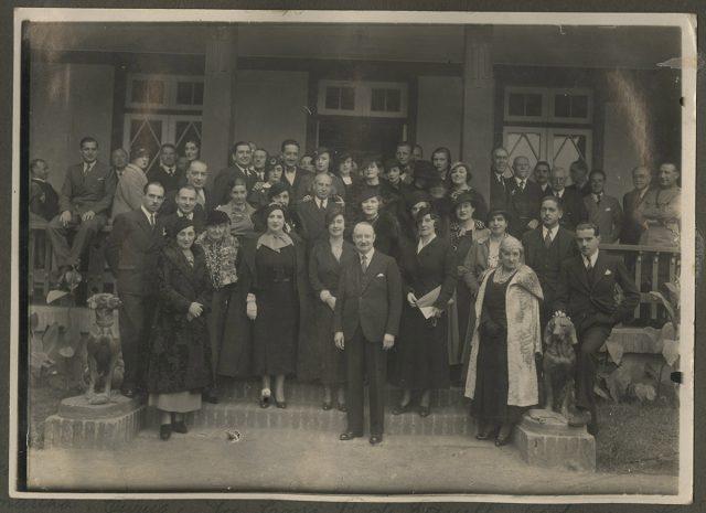 Erwig, Sra. Ema P de Gaeulli, Adriana Gómez Valdés- Gáudus, Dr. Krumenaker-Barahona