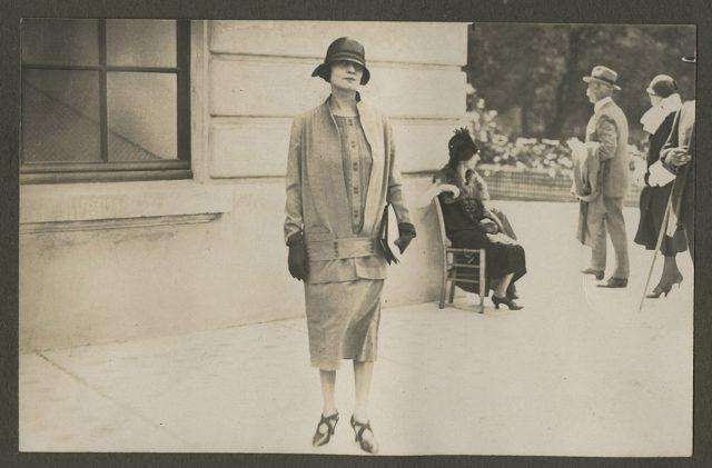 Elsa H. de Erwig en Lonchamps