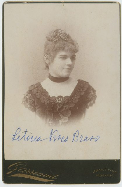 Retrato de Leticia Vives Bravo
