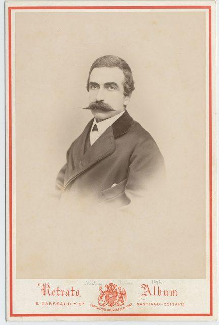 Retrato de Matías Patiño