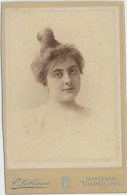 Retrato de Marta Eyzaguirre Herzl