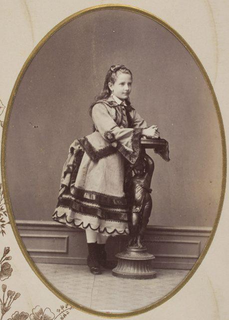 Retrato de niña