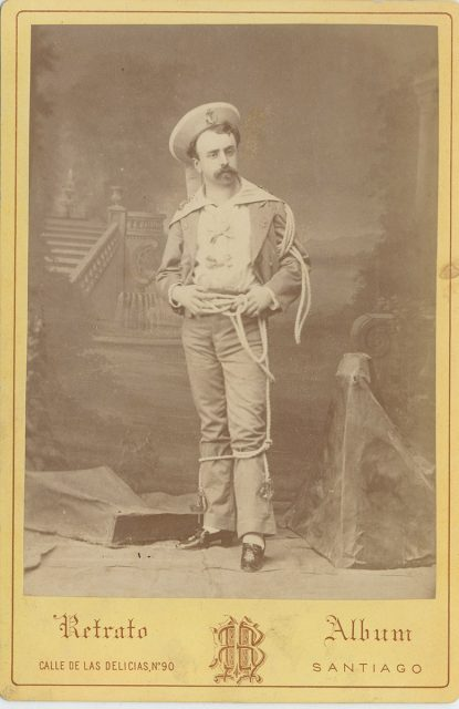 Retrato de Salvador Larraín Urriola