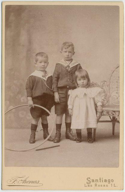 Retrato de niños