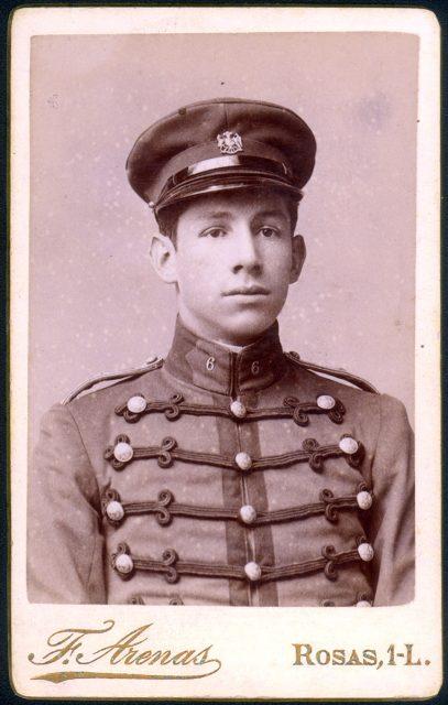 Retrato de J. Harvard