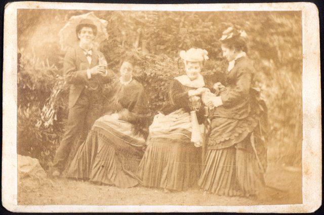 Grupo en un parque