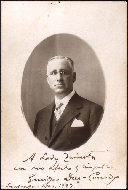 Retrato de Enrique Diez-Caneda