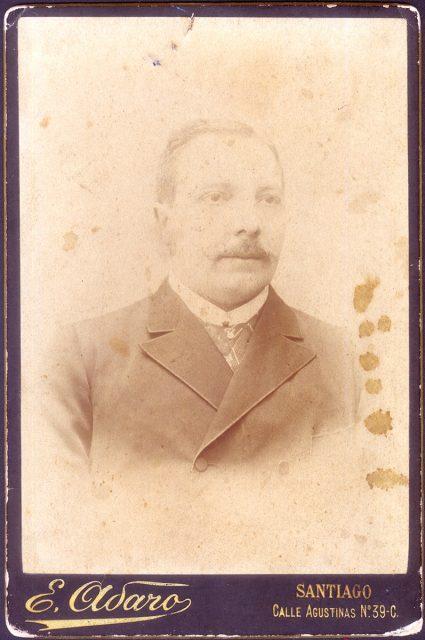 Retrato de Víctor Fabio Zañartu de la Cruz.