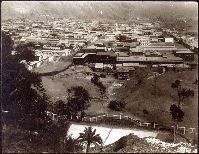 Vista de la ciudad de Taltal