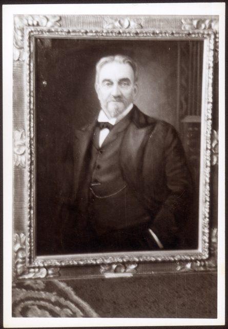 Retrato de Vicente Reyes Palazuelos