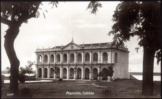 Cabildo de Asunción, Paraguay