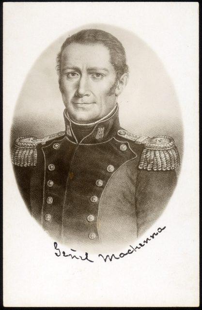 Retrato del General Mackenna