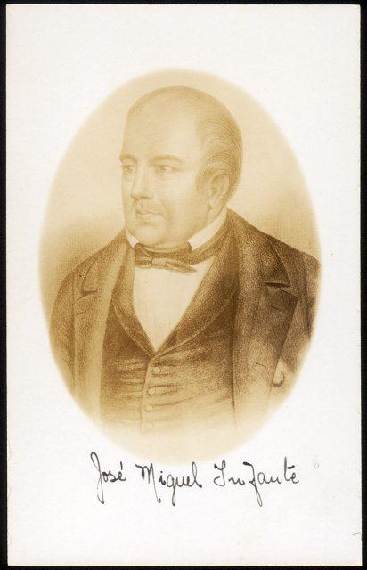 Retrato de José Miguel Infante
