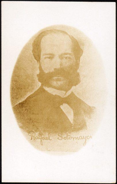 Retrato de Rafael Sotomayor