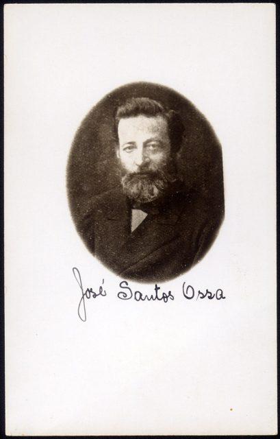 Retrato de José Santos Ossa