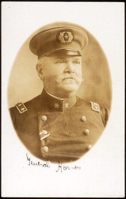 Retrato del General Körner
