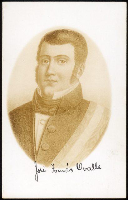 Retrato de José Tomas Ovalle