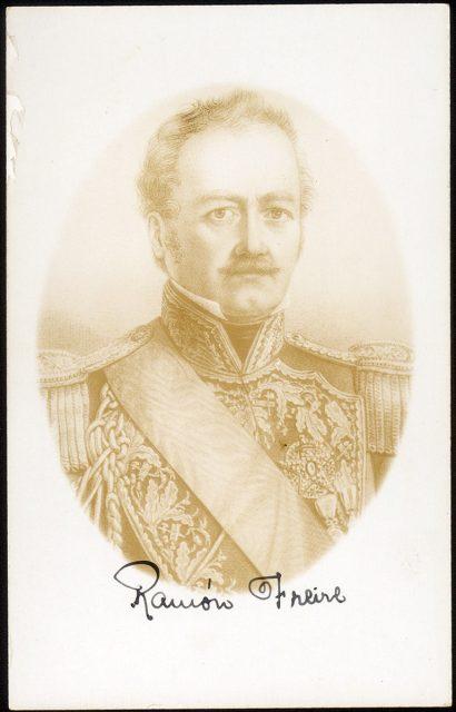 Retrato de Ramón Freire