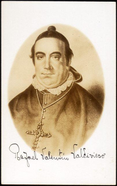 Retrato de Rafael Valentín Valdivieso