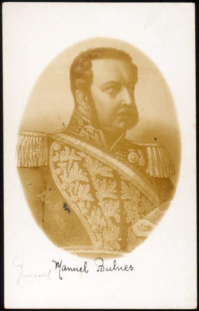Retrato del General Manuel Bulnes