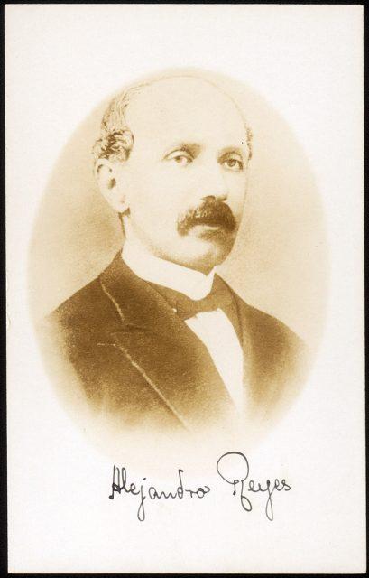 Retrato de Alejandro Reyes