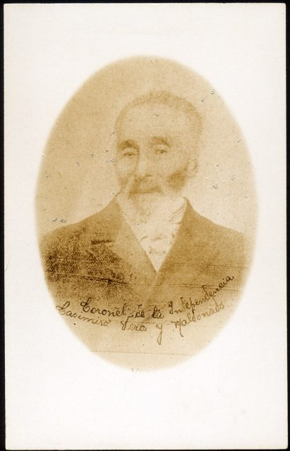 Retrato del Coronel Casimiro Vera y Maldonado