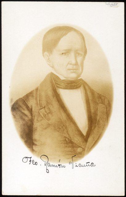 Retrato de Francisco Ramón Vicuña