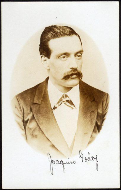 Retrato de Joaquín Godoy