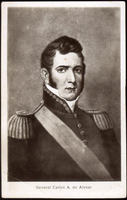 Retrato del General Carlos A. de Alvear