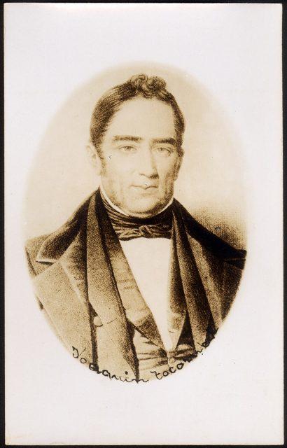 Retrato de Joaquín Tocornal