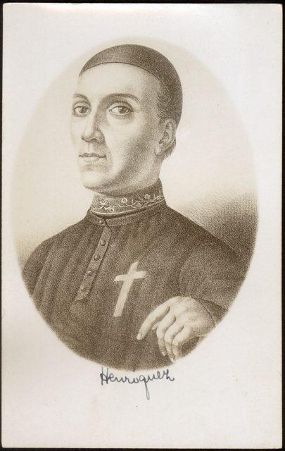 Retrato de Camilo Henríquez