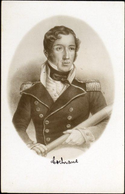 Retrato de Lord Cochrane
