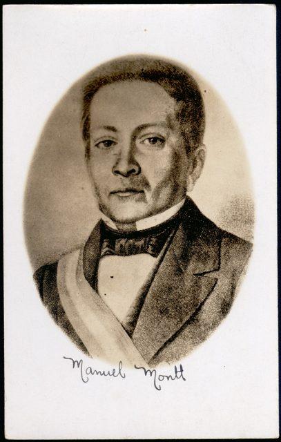 Retrato de Manuel Montt