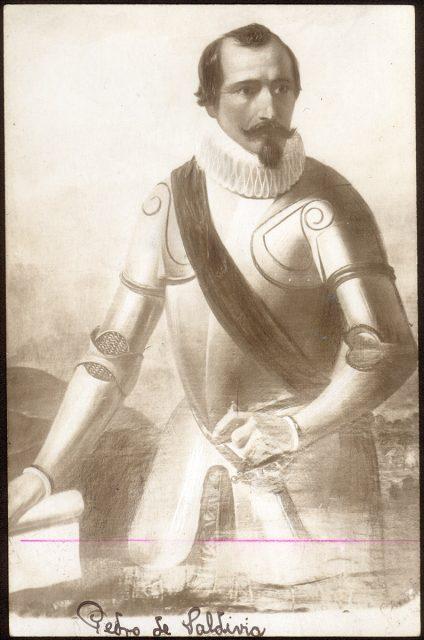 Retrato de Pedro de Valdivia