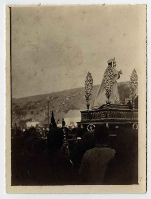 Procesión religiosa en Andacollo