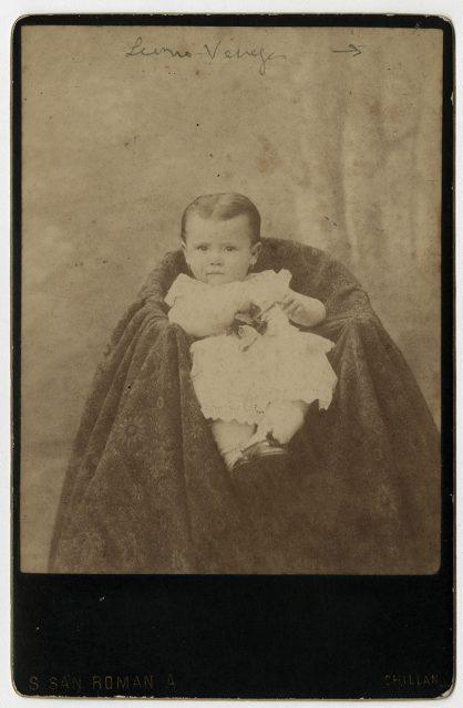 María Leonor Venegas a los 11 meses