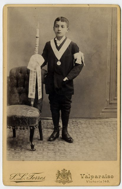 Julio Cesar Gana el día de su primera comunión