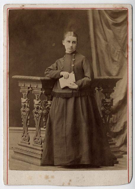 Retrato de Elisa Infante.