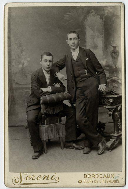 Ernesto y Luis Bouey Savagnac