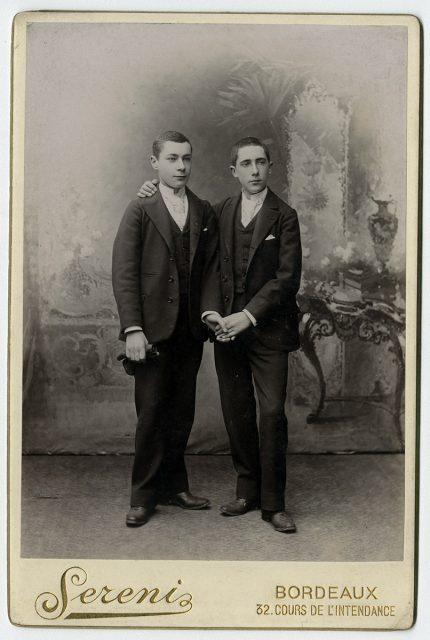 Luis y Ernesto Bouey Savagnac