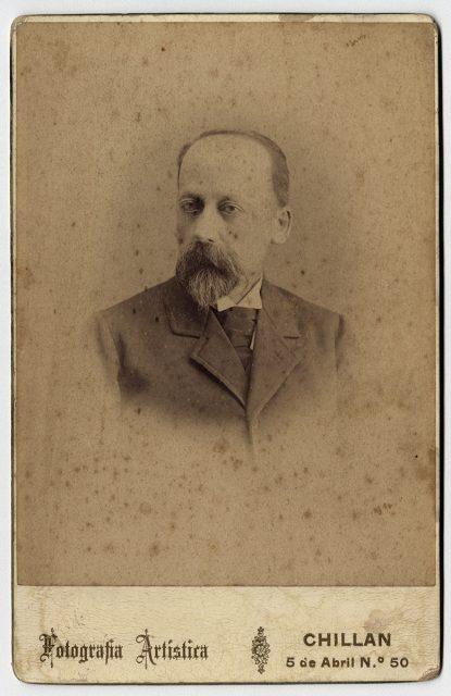 Retrato de Marcial Dañin