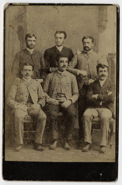 Retrato de seis hombres