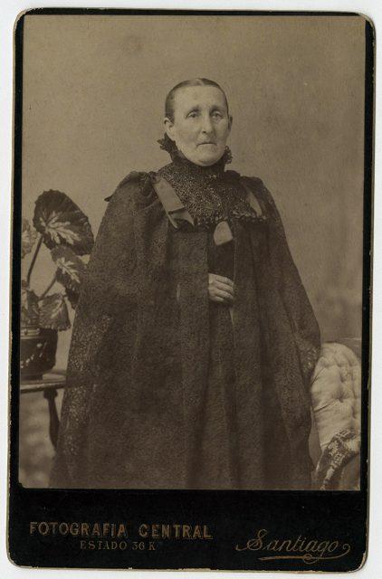 Retrato de Mercedes de Pradenas