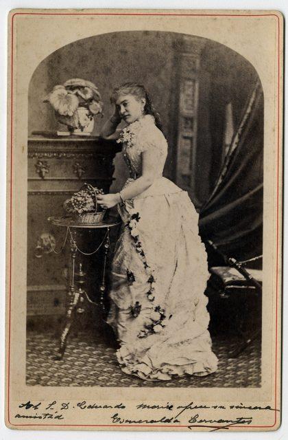 Retrato de Esmeralda Cervantes