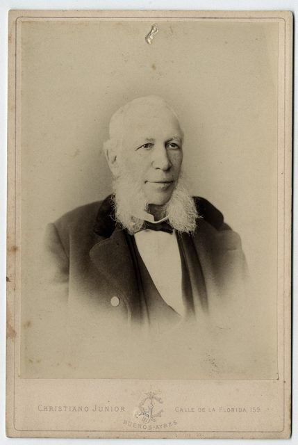 Retrato de Juan María Gutiérrez